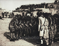 c.1900/72 Vintage NATIVE AMERICAN INDIAN Dancers Photograph Art By EDWARD CURTIS