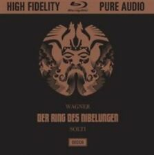 Wagner: Der Ring des Nibelungen [Blu-ray Audio], Sir Georg Solti, New Blu-ray, P