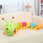 Cute Plush Colorful Inchworm Soft Developmental Half Meter For Child Toy Doll