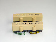 Set Schaller Jazz Bass PU JBX n. 246 Neck e Bridge Cream colori da 1986