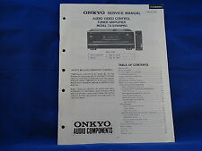 Onkyo TX-SV909PRO Amplifier Service Manual
