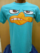 Mens Licensed Disney Agent P Growling Shirt New L