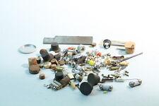 Uhrmacher Bedarf Zubehör - bunte Mischung aus Korken - Verschlüssen ua