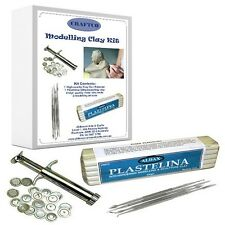 Modelling Clay Starter Kit - Clay - Extruder - Clay Tools - Articles