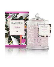 GLASSHOUSE CANDLE - VERONA - A DOZEN ROES - LIMITED EDITION