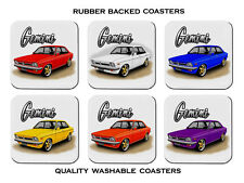 HOLDEN  TX  GEMINI  SEDAN     SET OF  6   RUBBER DRINK  COASTERS