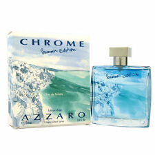Chrome Summer Edition by Azzaro 3.4 oz EDT Cologne for Men New In Box