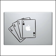 Aufkleber für Macbook Pro Sticker Vinyl laptop hülle luft mac 13 15 11 poker