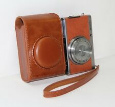 Camera PU Leather Bag Case Cover For Fujifilm XF1 Brown