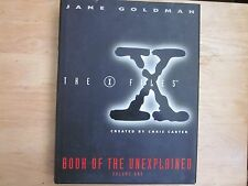 The X Files Book Of The Unexplained: Volume One-Jane Goldman (1995)