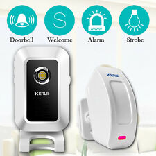 KERUI M7 Welcome Chime Wireless PIR Motion Sensor Door bell Alarm Entry Doorbell