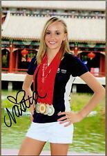 "Nastia Liukin, US Olympic Gymnast, Signed 4"" x 6"" Photo, COA"