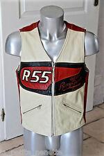 """RARE !!  blouson cuir """"the second skin"""" REMY GARSON R.55 taille S MODÈLE VINTAGE"""