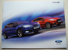 Ford. st. ford focus st: ford fiesta st. janvier 2015 sales brochure