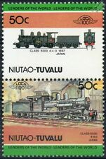 1897 JNR Class 6200 4-4-0 Japanese National Train Stamps / LOCO 100
