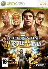 Xbox 360 - WWE Legends of WrestleMania **New & Sealed** Official UK Stock