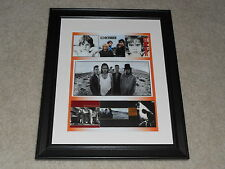 "Framed U2 Album Cover Poster, The Joshua Tree, War, Boy, 1980-1988 , 14""x17"""