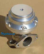 38mm 14 psi Turbo External Wastegate Polished Body Stainless Steel Silver II