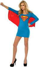 Women's DC Superheroes Supergirl Wing Dress Adult Sexy Costume Size Large