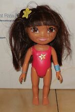 Mattel Teenage Talking Dora Doll #2 in Bathing Suit GUC Nickelodeon