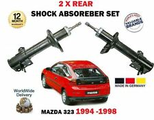 FOR MAZDA 323 1994-1998 NEW 2 X REAR LEFT + RIGHT SHOCK ABSORBER SHOCKER