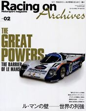 [BOOK] Racing on Archives vol.02 Le Mans Porsche 917 RS Audi R10 R8 Peugeot 908