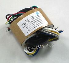 115V/230V 30W Audio R-Core Transformer 15V+15V 6V+6V / 15V*2 6V*2 For Preamp