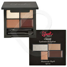 Sleek Make Up I-Quad Eye shadow & Gel Liner Palette 3g Brown Gold Nude Cream