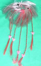 DISNEY PARKS COSTUME WIG HAIRPIECE PINK BRAIDED KID WIG MICKEY HEADS NEW