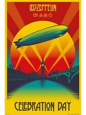 "LED ZEPPELIN POSTER ""CELEBRATION DAY""  BRAND NEW "" LARGE SIZE 61cm X 91.5cm"