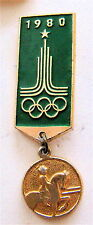 MOSCOW 1980 OLYMPIC GAMES EQUESTRIAN DRESSAGE PIN LOGO