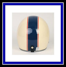 Motorcycle Vinyl 2 COLOR stripe Helmet Graphic Decal Set Stripes Decals