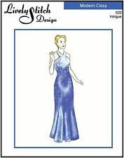 "Intrigue / sewing pattern for the 21"" Modern Cissy by Madame Alexander"