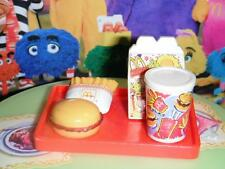 Barbie McDonalds Happy Meal w/toy Tray (F) fits Fisher Price Loving Family Dolls