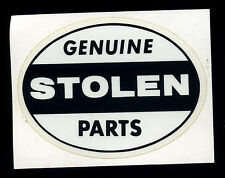Genuine Stolen Parts Sticker Hot Rod Drag race Motorcycle Ed Roth