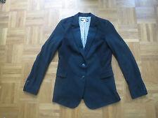 ♥ ♥ ♥ Schwarzer langer Blazer Jacke Jacket von ESPRIT gefüttert ♥ Gr. 38/40