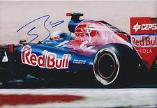 Sebastien Buemi Red Bull F1 SIGNED Autograph Toro Rosso 12x8 Photo AFTAL COA