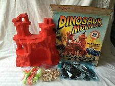 Vintage Toy Dinosaur Mountain Playset In Box By Timmee