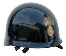 AB Französischer Schutzhelm Aufdruckabzeichen Gendarme Helm Blau Gebraucht