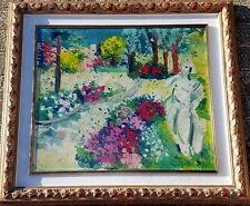 Athos FACCINCANI 60x70 cm.,Opera Unica  storica con Autentica dell'artista
