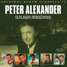 PETER ALEXANDER / ORIGINAL ALBUM CLASSICS II - SCHLAGER RENDEVOUZ - 5CD SET