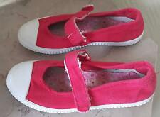 Chaussures Babies en Toile Rouge Taille 31