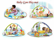 Baby Gym Playmat Soft Toy & Activity Kid Development Music Light Toy Set Gift