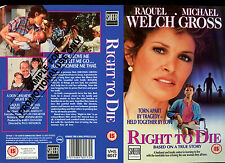 Right To Die - Raquel Welch - Video Promo Sample Sleeve/Cover #15996