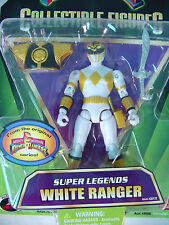 Mighty Morphin Power Rangers TOMMY Super Legends WHITE RANGER Figure 2008~MOC ~A