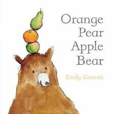 Orange Pear Apple Bear Classic Board Books