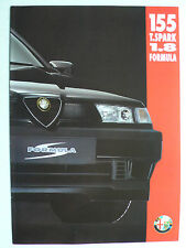 Prospekt Alfa Romeo 155 Twin Spark 1.8 Formula, 3.1994, 6 Seiten, folder
