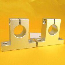 SK25 Bearing CNC Aluminum Linear Rail Motion Shaft Support 25MM SK Series x 1PCS