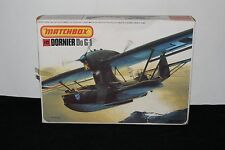 VINTAGE MATCHBOX #PK-409 DORNIER Do G-1 SEAPLANE MODEL KIT 1/72