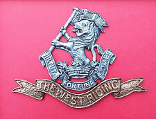 Large Scale Duke of Wellington's Regiment Cap Badge West Riding Model